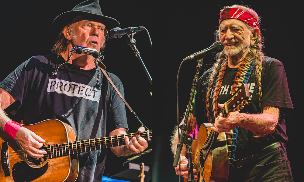 neil young and willie nelson