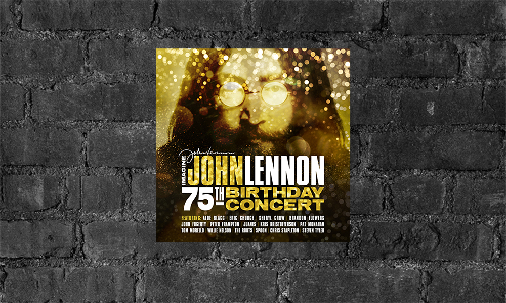 imagine john lennon 75th birthday concert album release