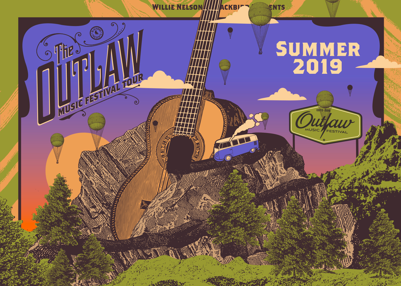 Outlaw Music Festival Tour 2019